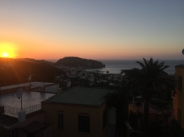 Sunsets at Hotel Villa Sirena