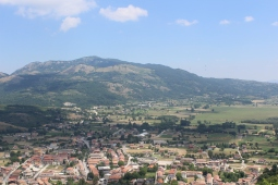 Volturara from above